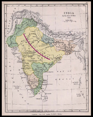 BritishMapOfIndia1780