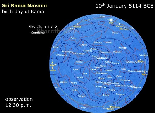 LordRama_sky_position_birthday_planetarium_software