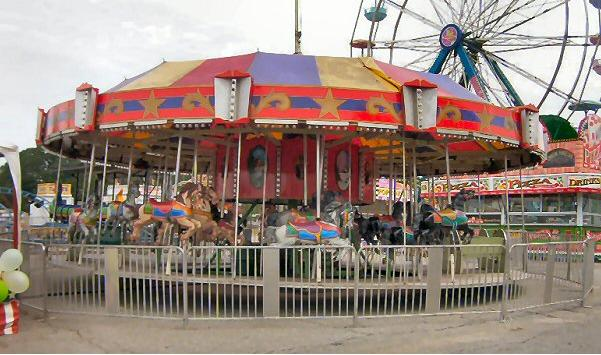 merry go round carousel carnival ride