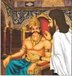 Shukracharya advising Bali