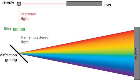C V Raman effect