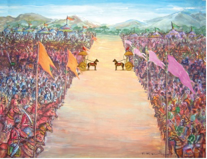 kurukshetra war dating Kurukshetra war is like a  how famous/popular is krishna at his times  and we don't have any literature from the greeks or other countries dating to.