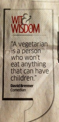 Vegetarian Day 7